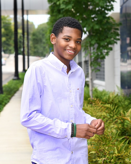 As a sickle cell patient, Bryan, age 15, is very familiar with Children's Hospital's Emergency Department.