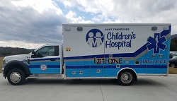 Lifeline Ambulance at East Tennessee Children's Hospital
